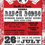 Double A Feeds WSRRA Ranch Rodeo and Ranch Bronc Riding