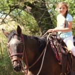 Riding The Neighbors' Horse.