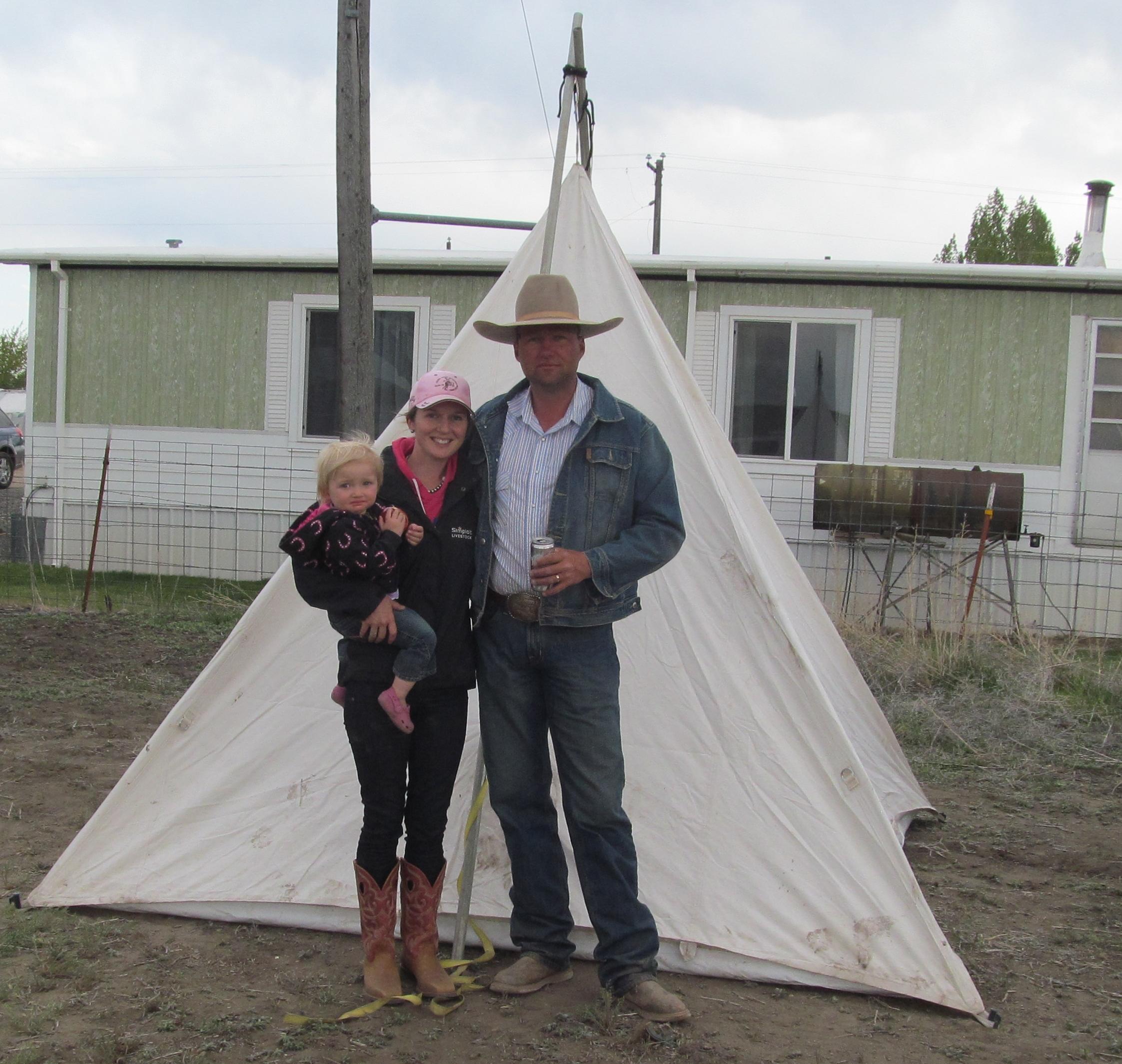 & Cowboy teepee - .:: CavvySavvy.com