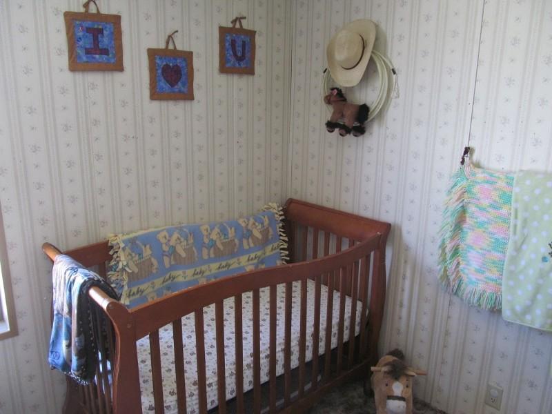 Cowboy baby crib