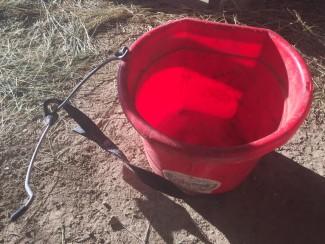 broken bucket