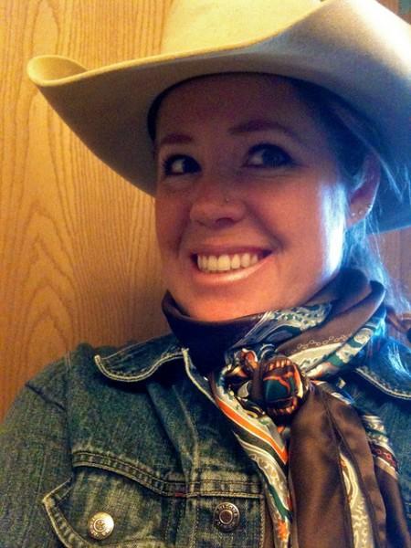 cowgirl attire, cowboy gear, wild rag, scarf, winter gear, cowboy winter gear