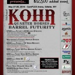 Kohr Quarter Horses Barrel Futurity 2016