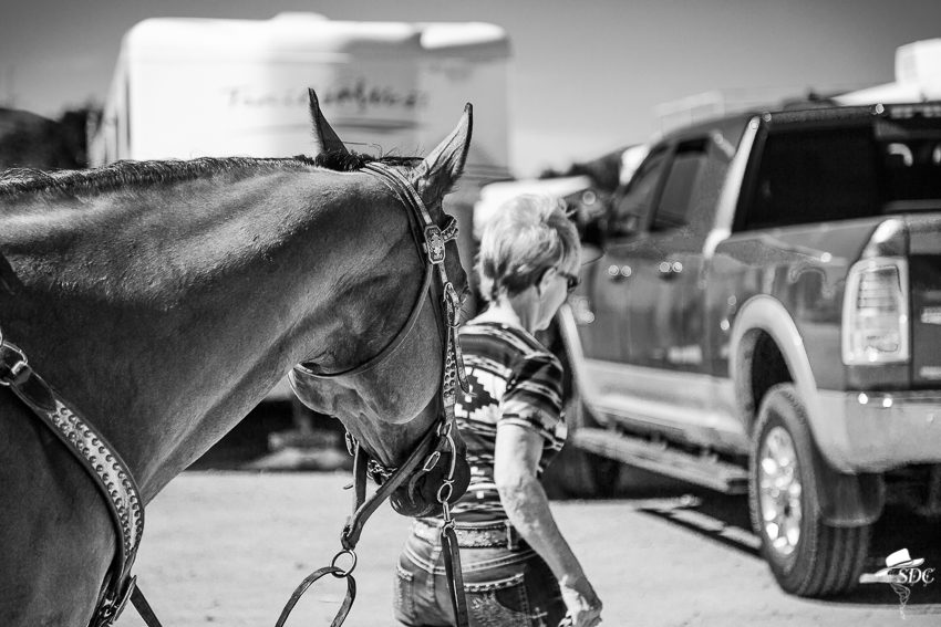 Barrel racers are never at a loss for pretty tack.