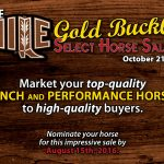 Featured Event: NILE Gold Buckle Select Horse Sale
