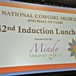National Cowgirl Museum Hall of Fame Day 2 - The Induction Luncheon
