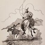 Native American Buckaroo Artist James Shoshone
