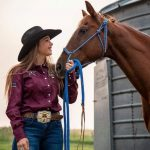 Shay Hough and Tex - Her Little Horse With A Big Heart