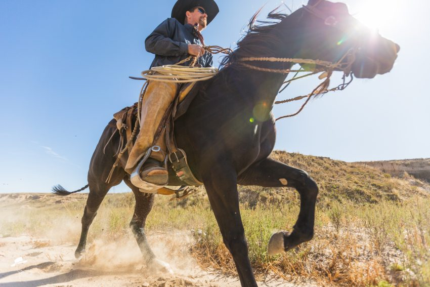 western wednesday, south dakota cowgirl photography