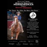 Art of the Cowgirl, World's Greatest Horsewoman Presented By Western Horseman