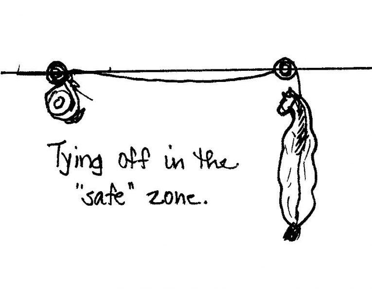 tying